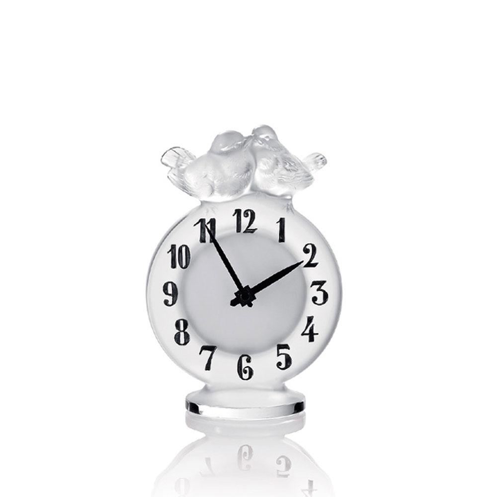 Lalique Antoinette Crystal Clock