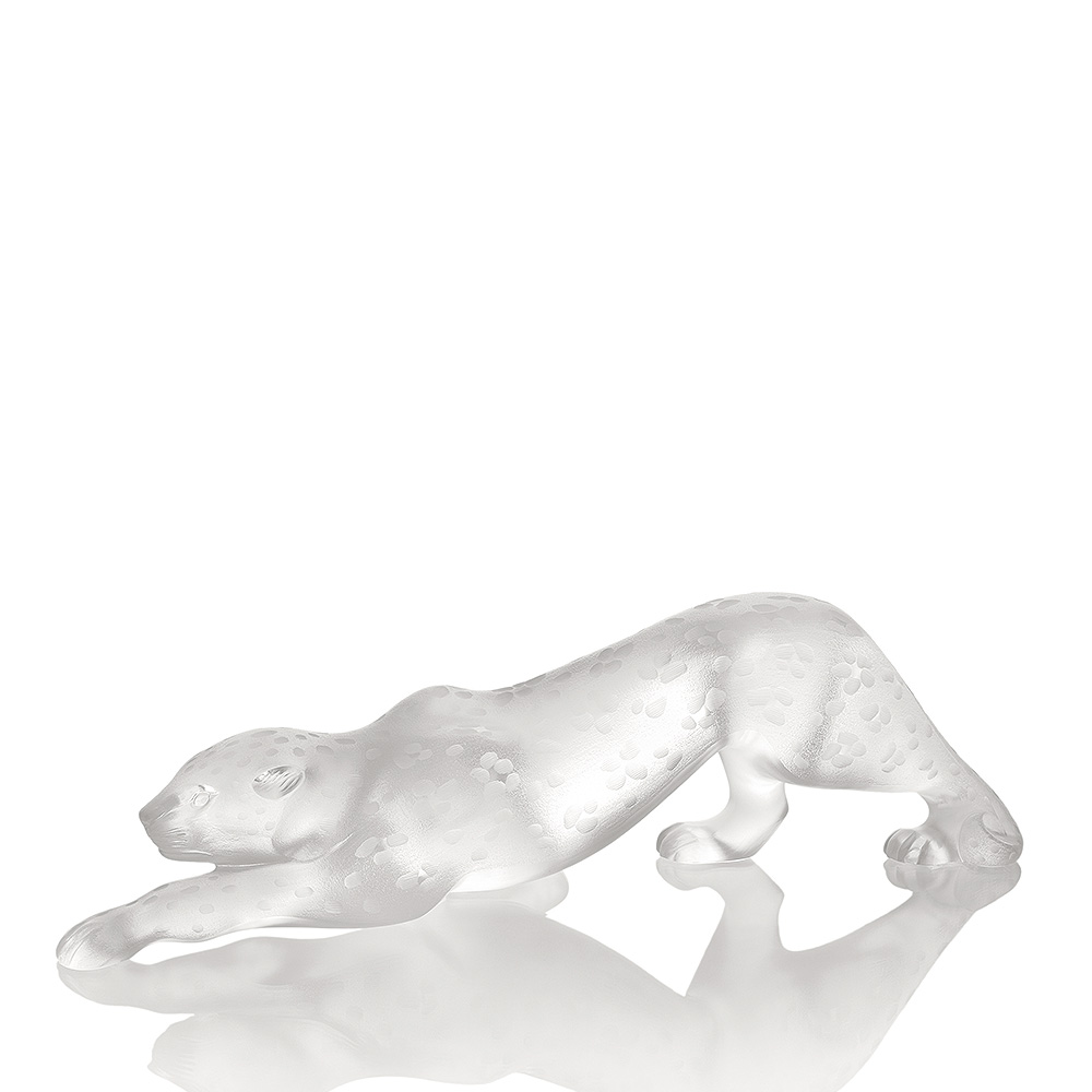 "Lalique Zeila Panther Lost Wax 20"", Limited Edition"
