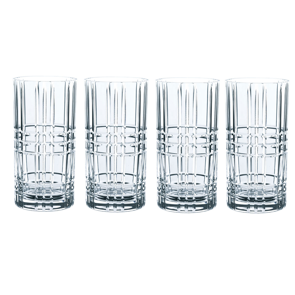 Nachtmann Square Longdrink, Set of 4