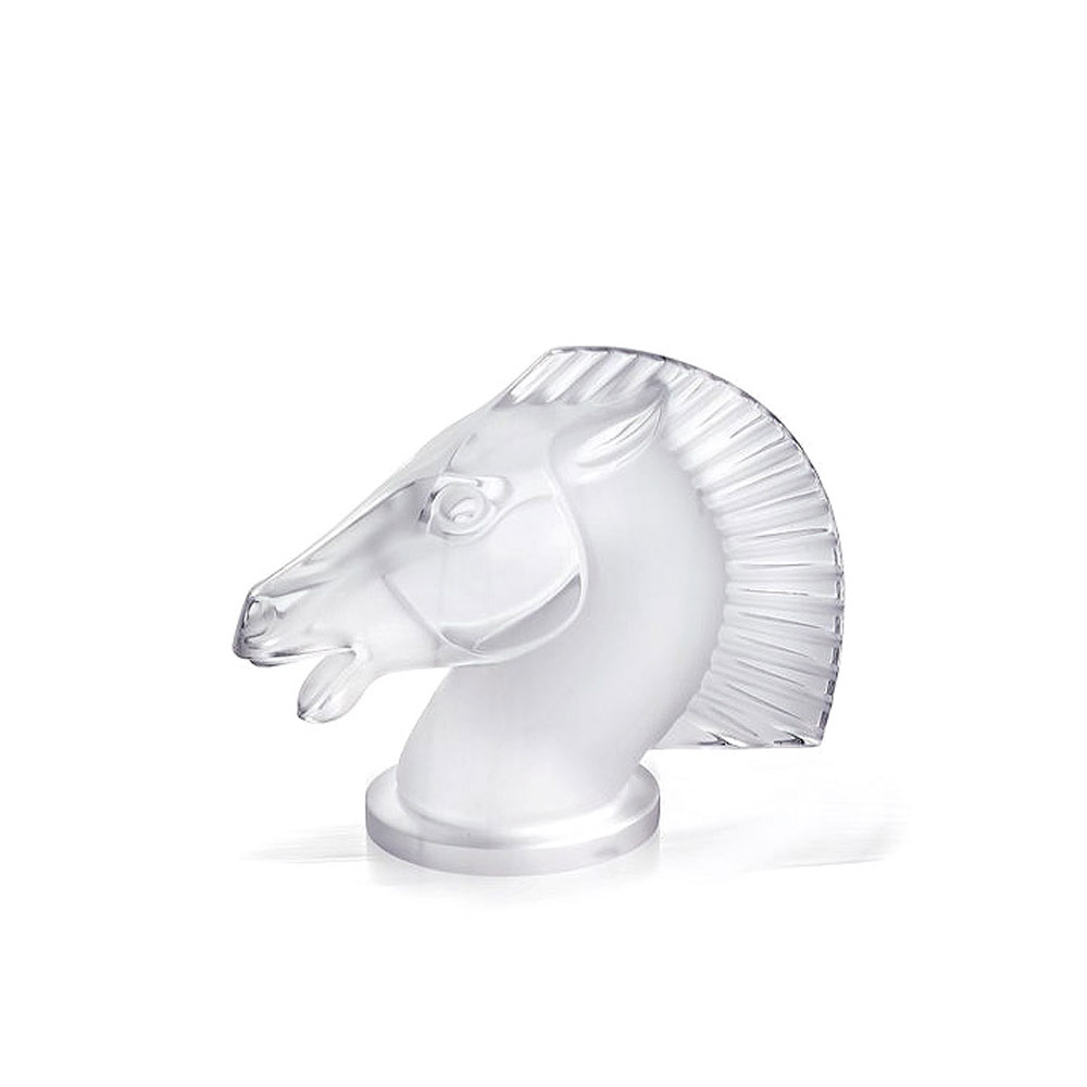 "Lalique Longchamp Horse 6"" Sculpture"