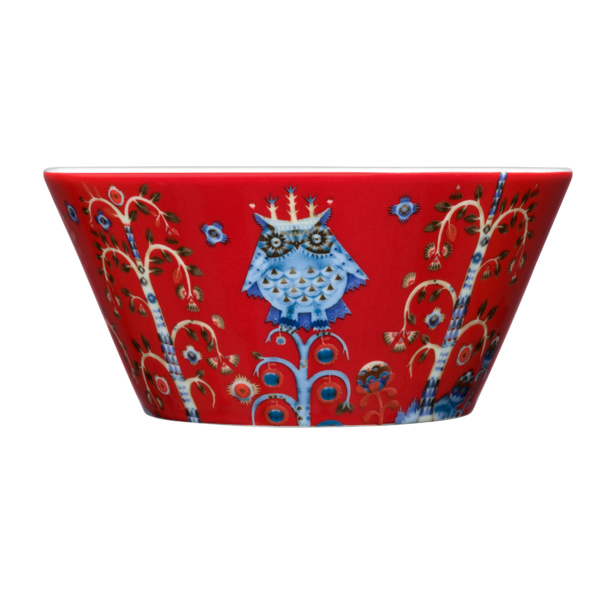 Iittala Taika Pasta Bowl Red
