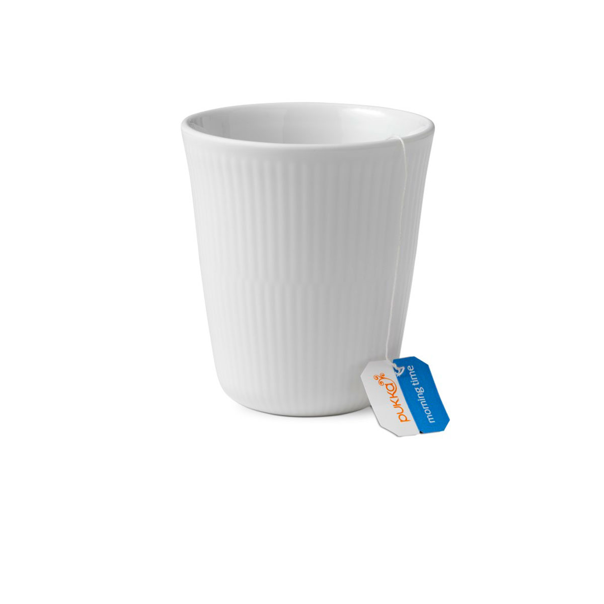 Royal Copenhagen, White Fluted Thermal Cup 9.75oz.