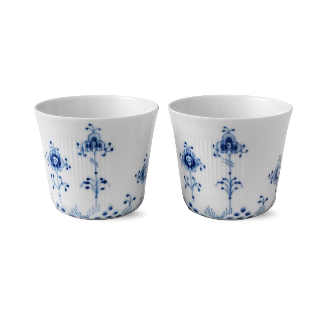 Royal Copenhagen, Blue Elements Multi Cup 8.5oz. Pair