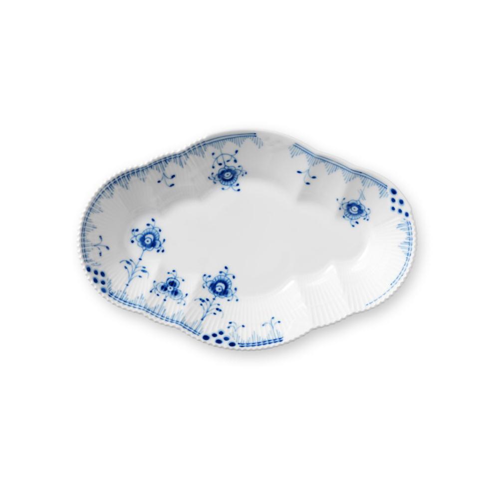 """Royal Copenhagen, Blue Elements Oval Accent Dish 9"""""""