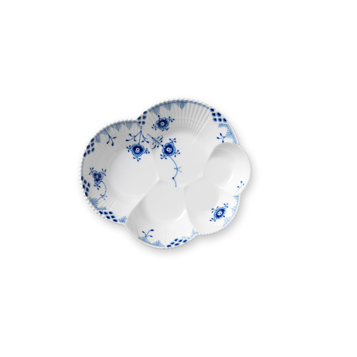"Royal Copenhagen, Blue Elements Sky Shaped Dish 7.5"""