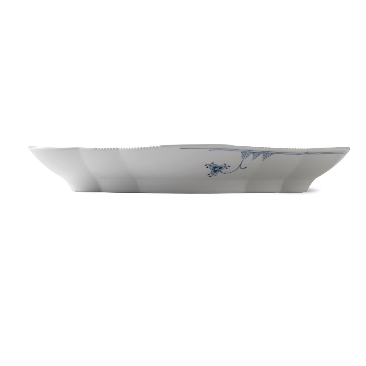 "Royal Copenhagen, Blue Elements Oval Platter, Large 15"""