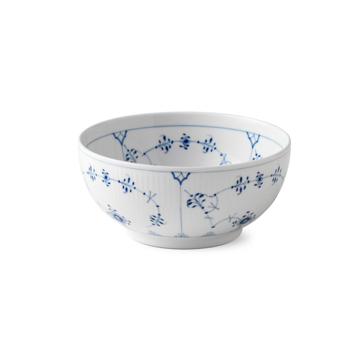 Royal Copenhagen, Blue Fluted Plain Bowl 1 Qt