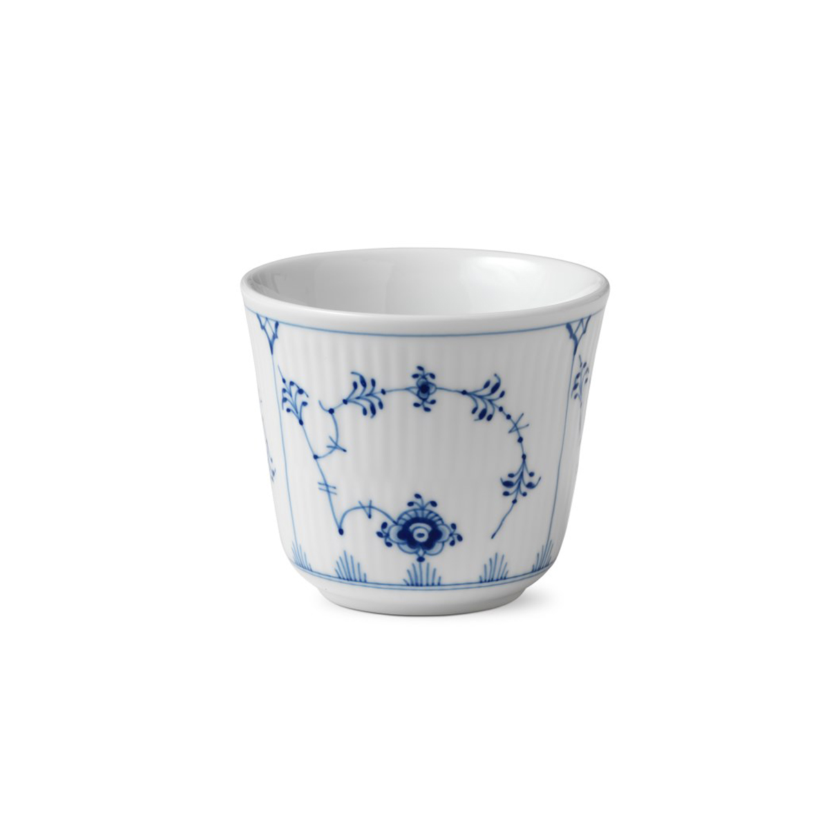 Royal Copenhagen, Blue Fluted Plain Thermal Cup 8.5oz.