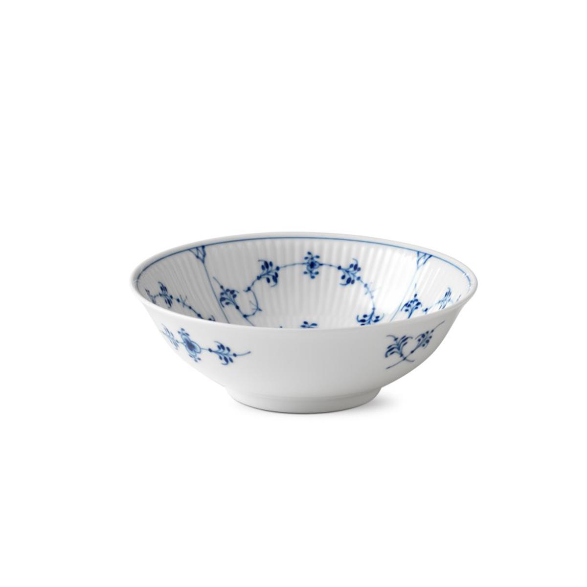 Royal Copenhagen, Blue Fluted Plain Cereal Bowl 11.75oz.