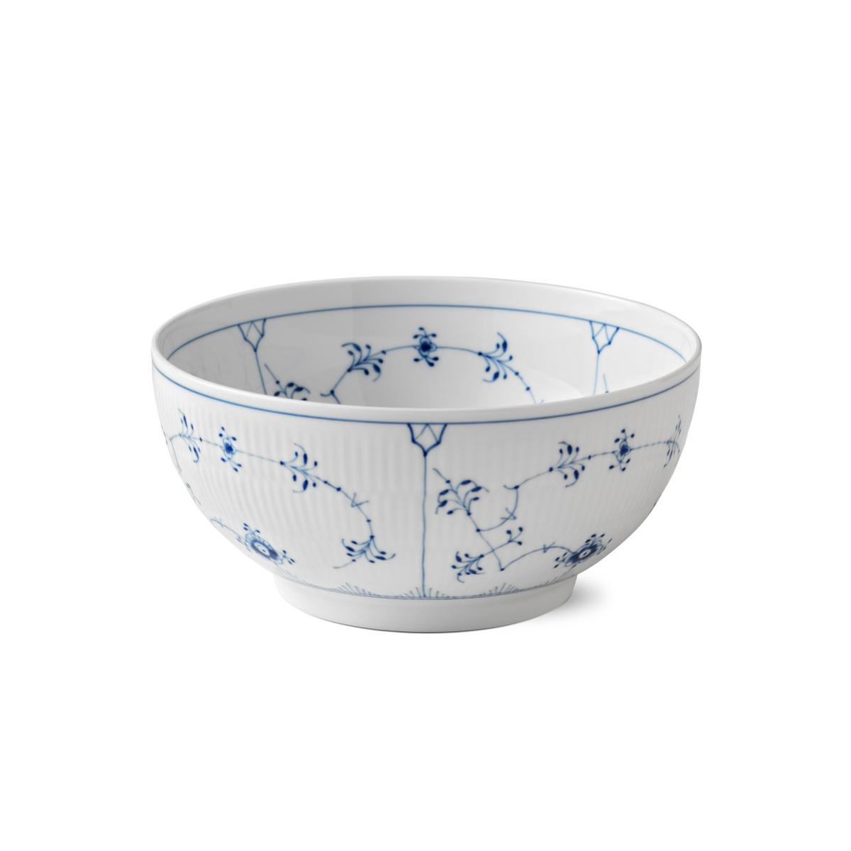 Royal Copenhagen, Blue Fluted Plain Bowl 3.25 Qt