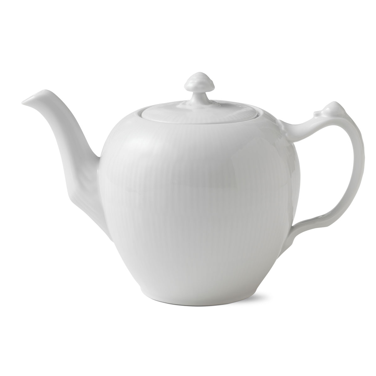 Royal Copenhagen, White Fluted Tea Pot 1Qt
