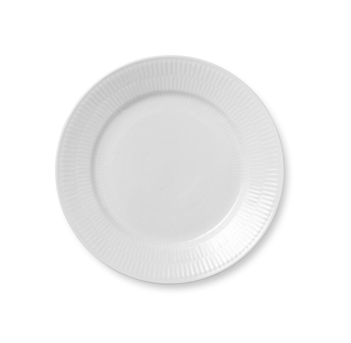 Royal Copenhagen, White Fluted Salad Plate 8.75""