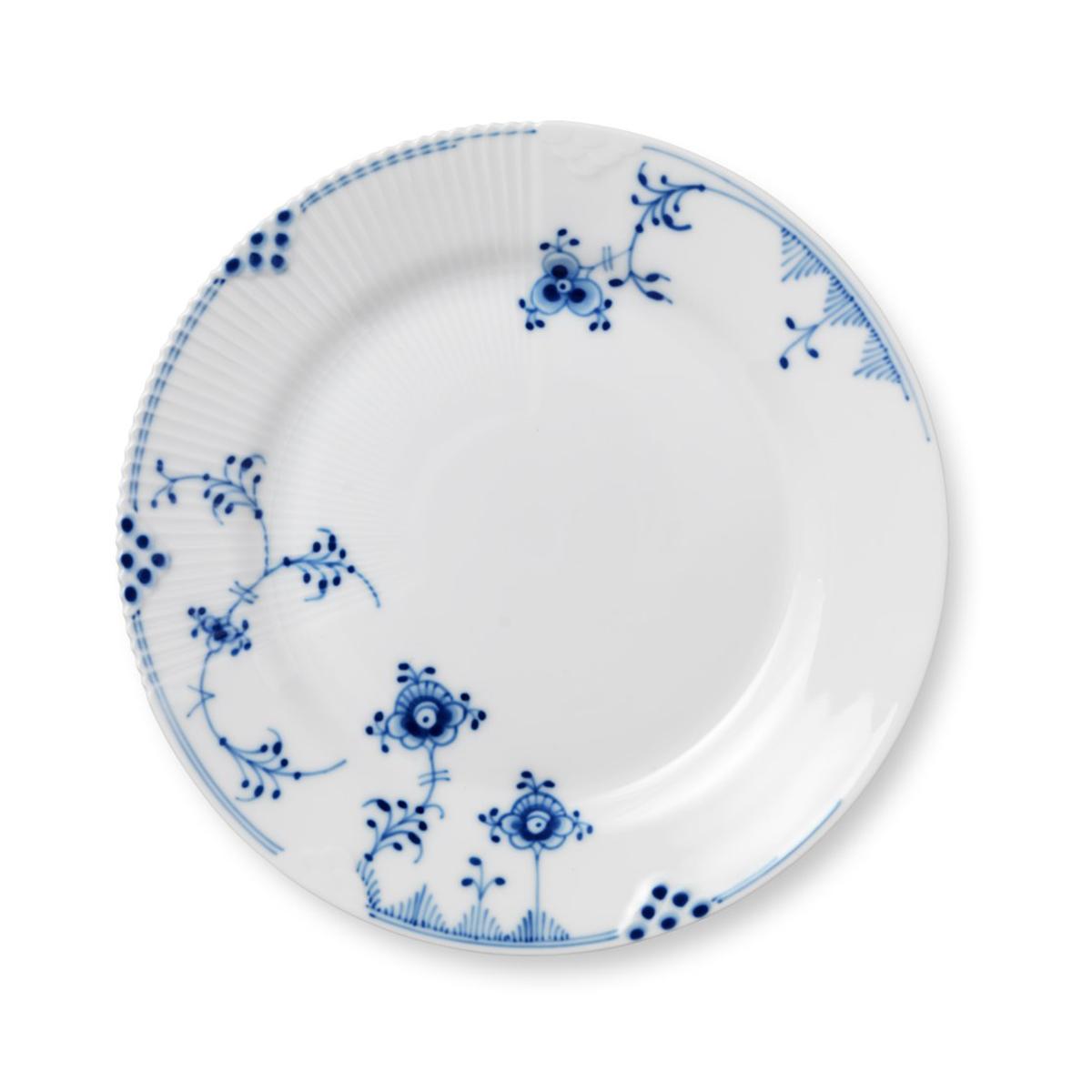 """Royal Copenhagen, Blue Elements Salad Plate 8.5"""""""