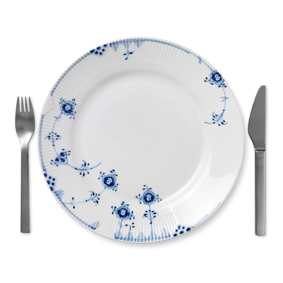 "Royal Copenhagen, Blue Elements Dinner Plate 11"""