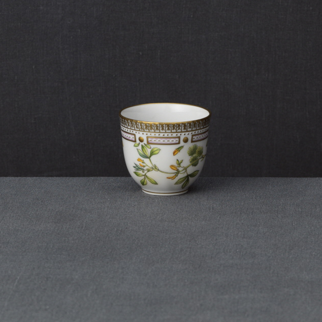 Royal Copenhagen, Flora Danica Cup 3.7oz., Limited Edition