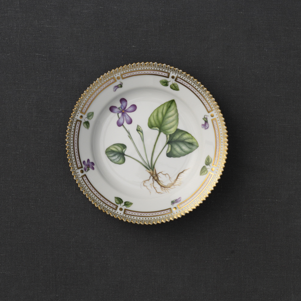 "Royal Copenhagen, Flora Danica Bread and Butter Plate 6.75"", Limited Edition"