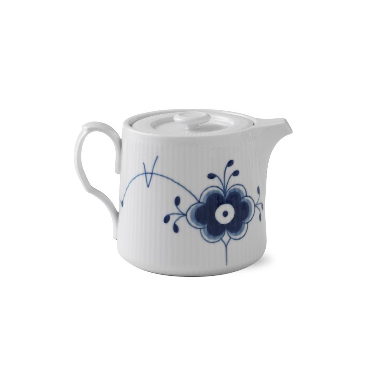 Royal Copenhagen, Blue Fluted Mega Teapot 25oz.