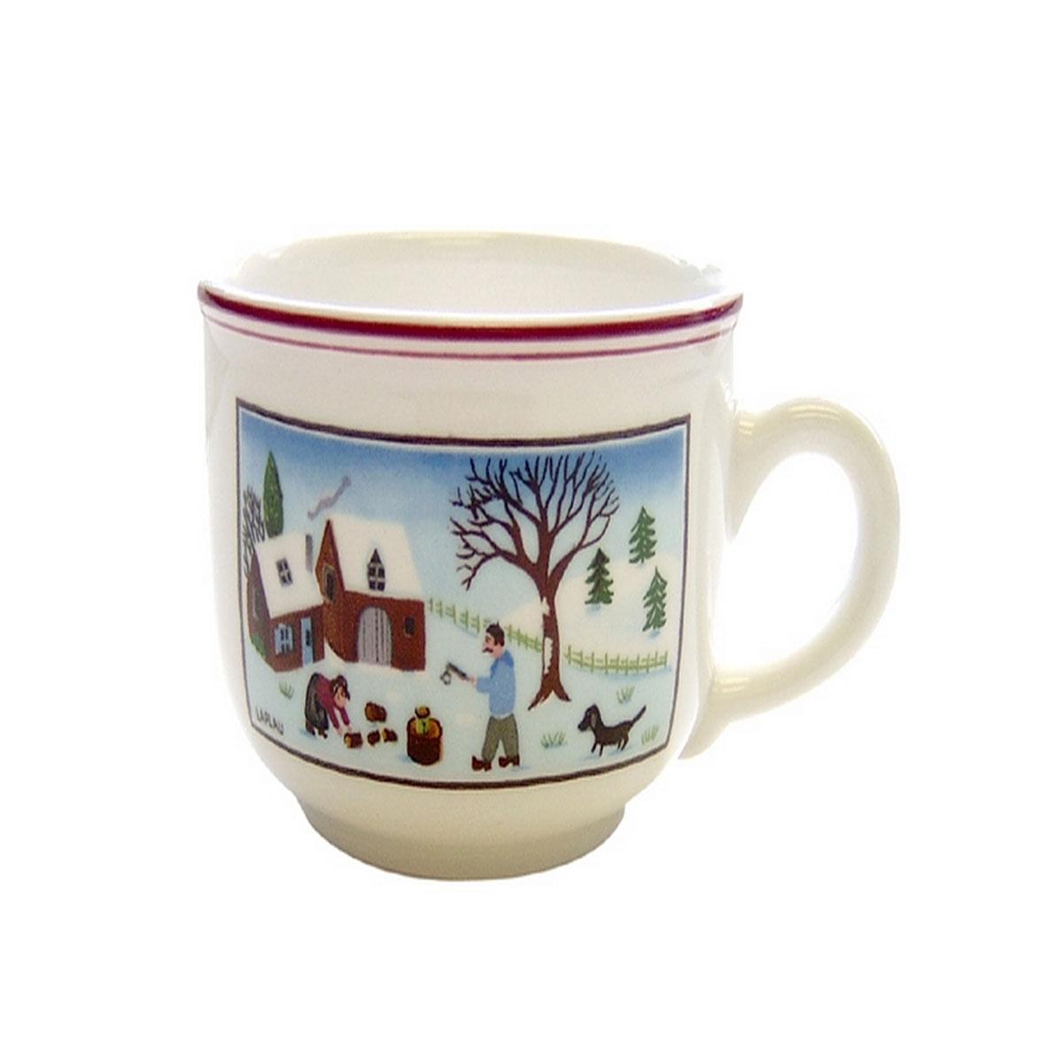 Villeroy and Boch Naif Christmas Tea Cup