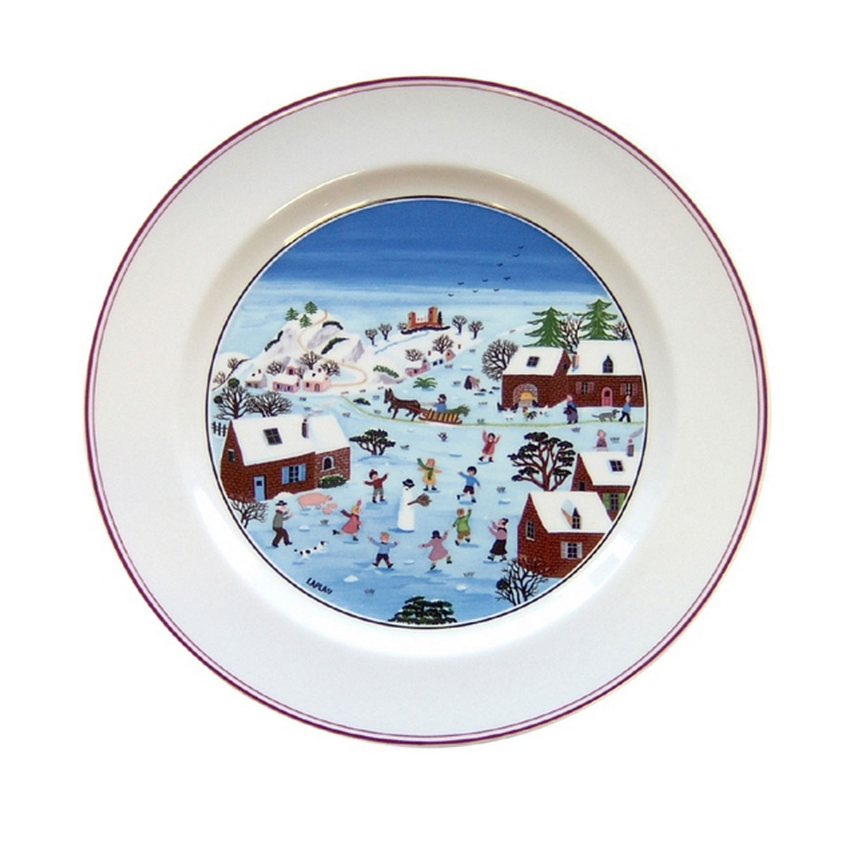 Villeroy and Boch Naif Christmas Dinner Plate