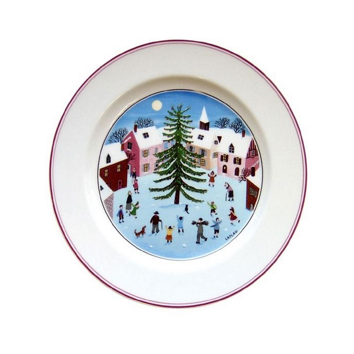 Villeroy and Boch Naif Christmas Salad Plate