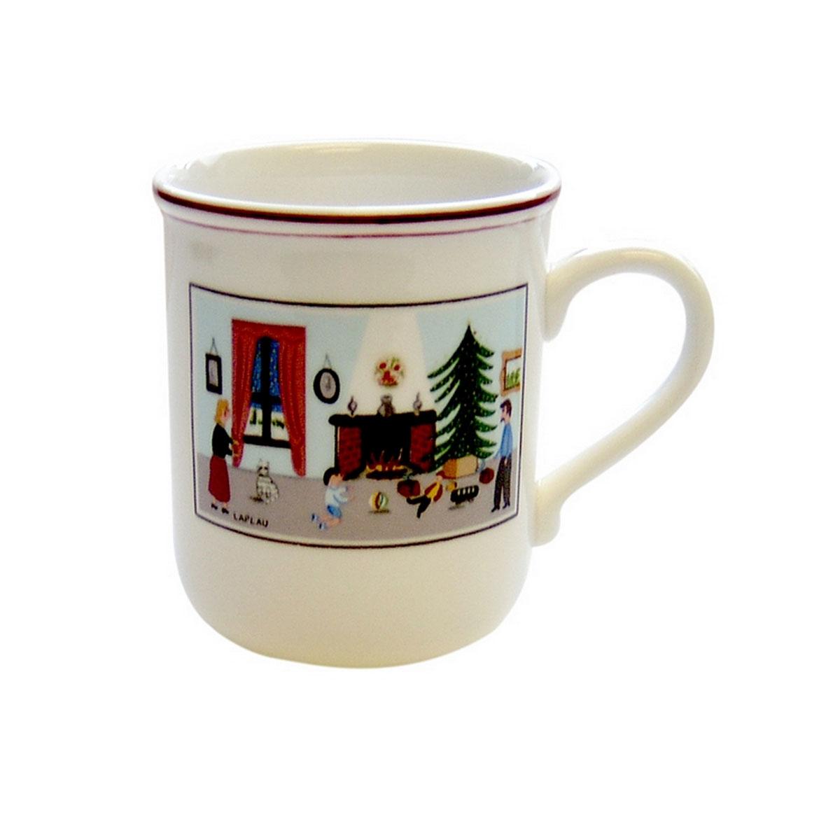 Villeroy and Boch Naif Christmas Mug