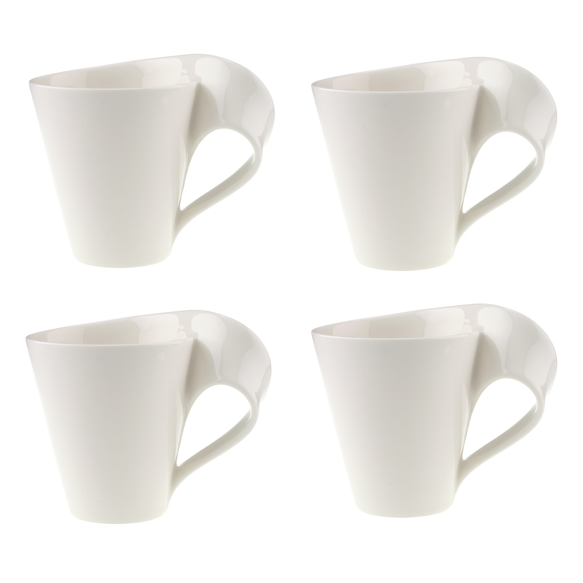Villeroy and Boch New Wave Caffe Set of 4 Mugs