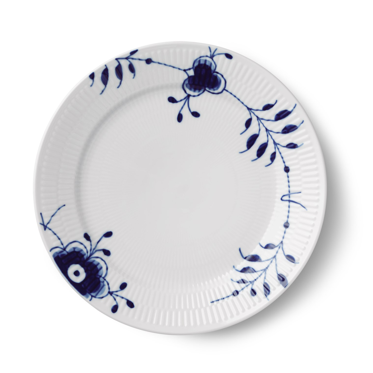 "Royal Copenhagen, Blue Fluted Mega Plate 10.75"" Special Edition"