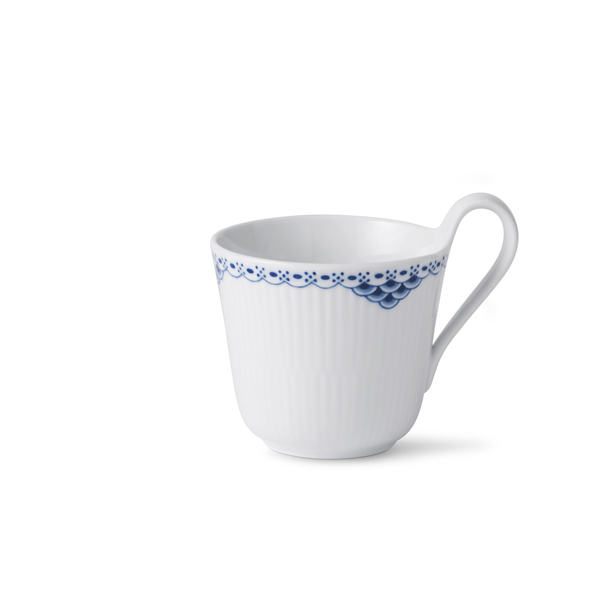 Royal Copenhagen, Princess High Handled Mug 11oz.