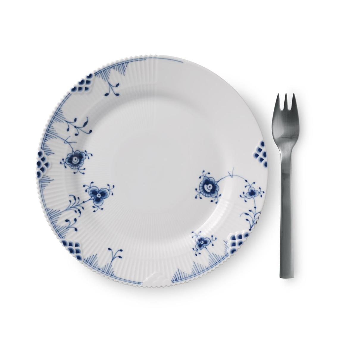 "Royal Copenhagen, Blue Elements Bread and Butter Plate 7.5"""
