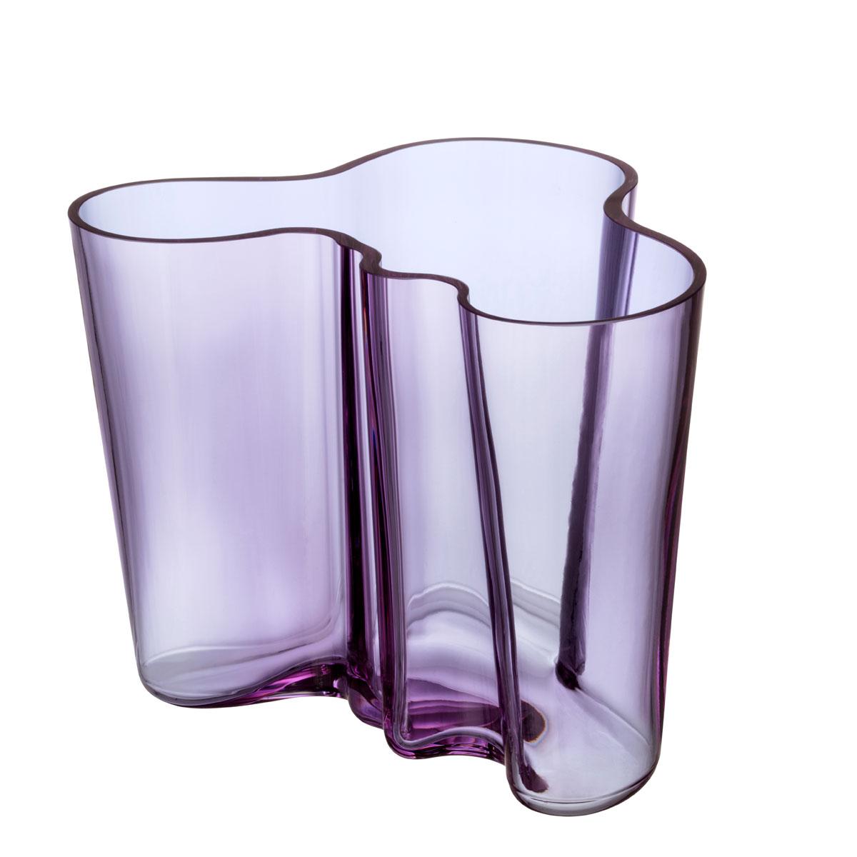 "Iittala Aalto Vase 6.25"" Amethyst"