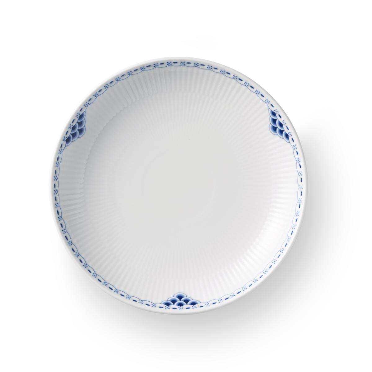 "Royal Copenhagen, Princess Shallow Bowl 7.75"""