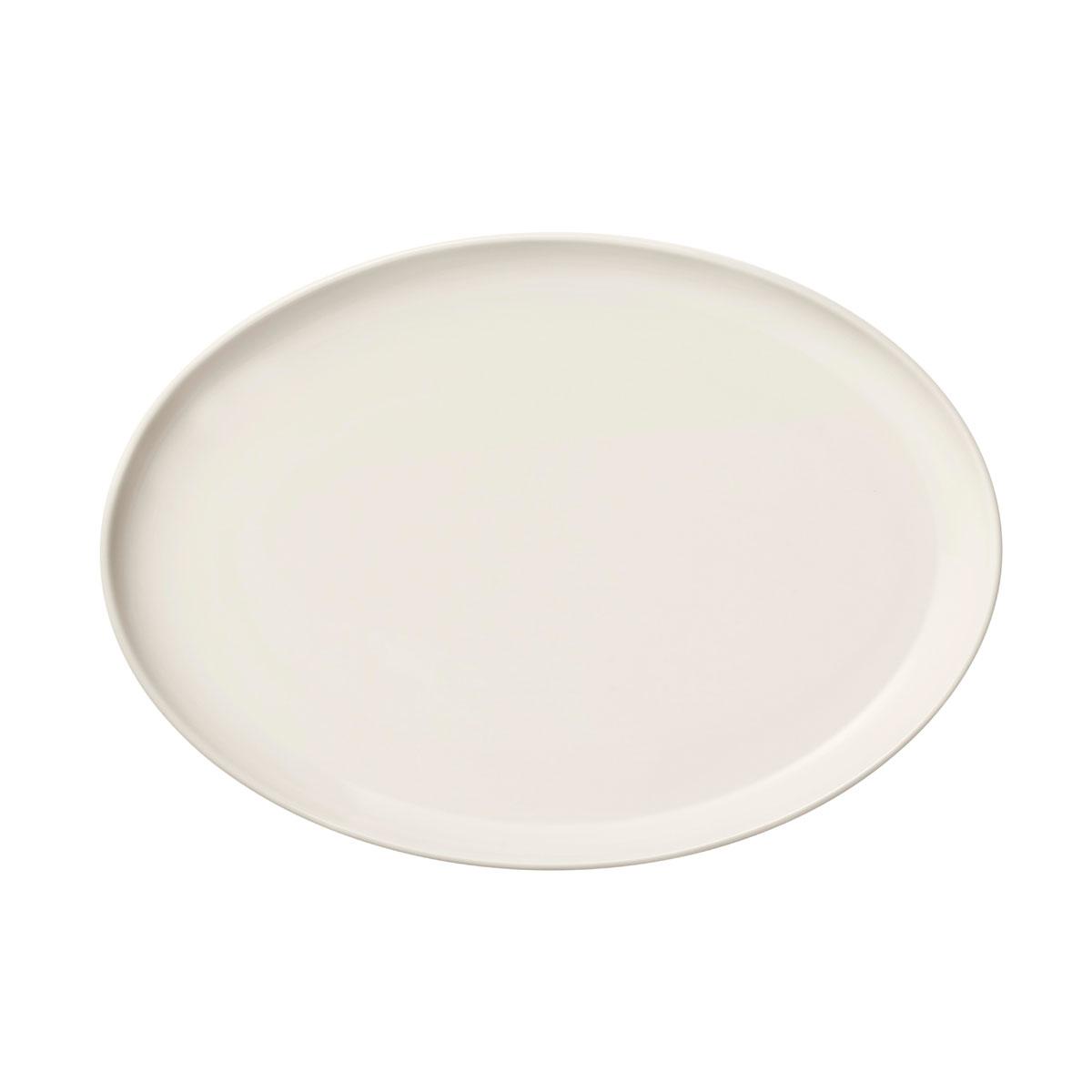 "Iittala Essence Plate 10"" Oval White"
