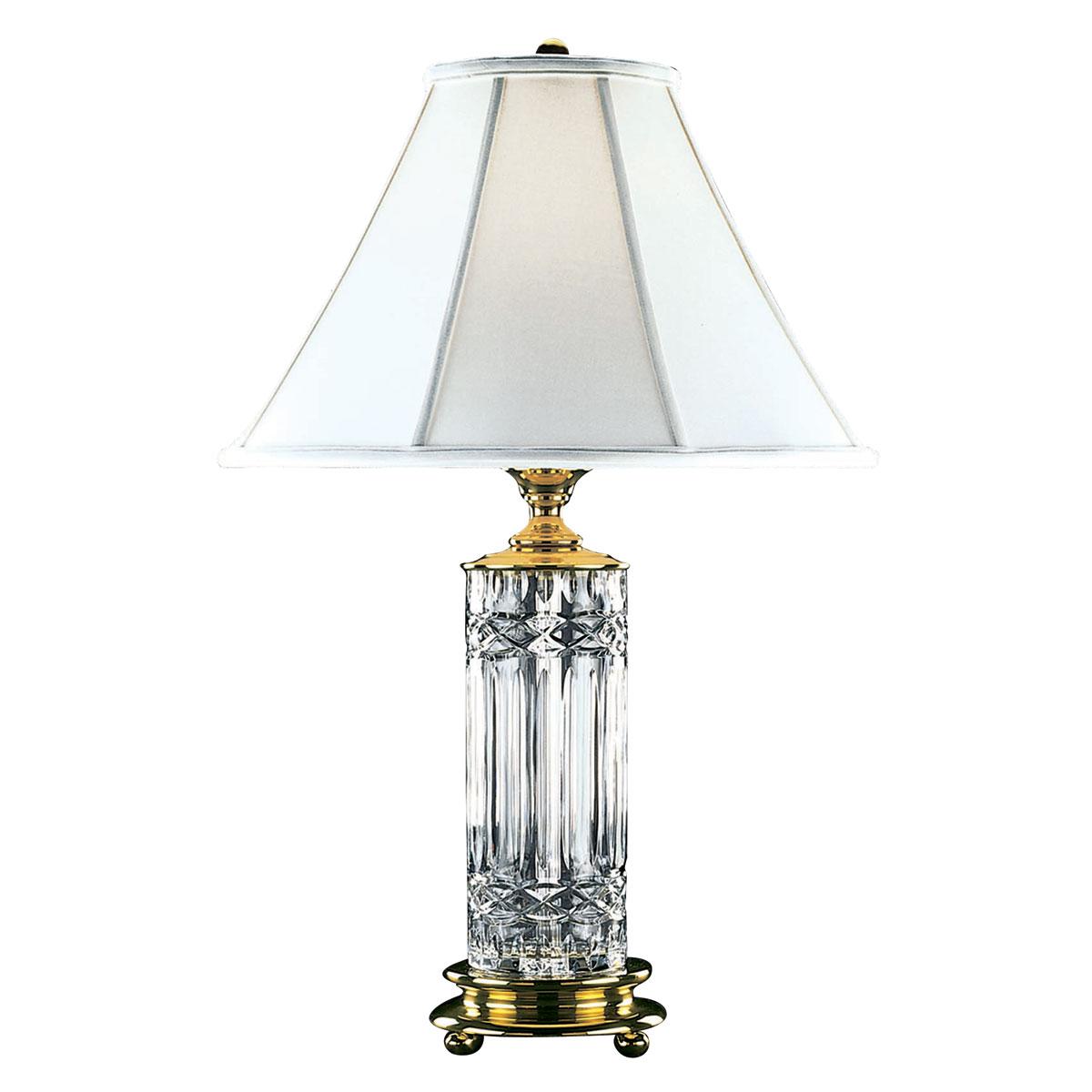 """Waterford Crystal, Kells 30"""" Crystal Lamp"""