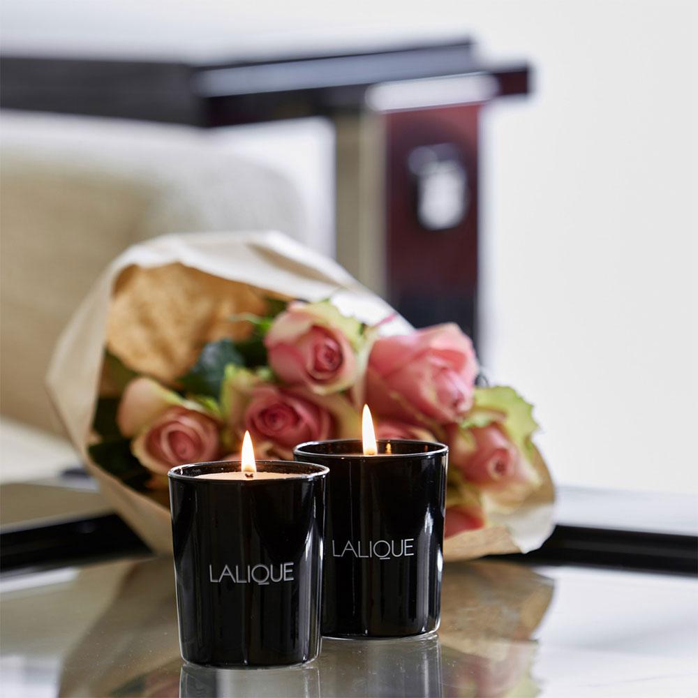 Lalique Van Acapulco Scented Candle, Vanilla Mexico