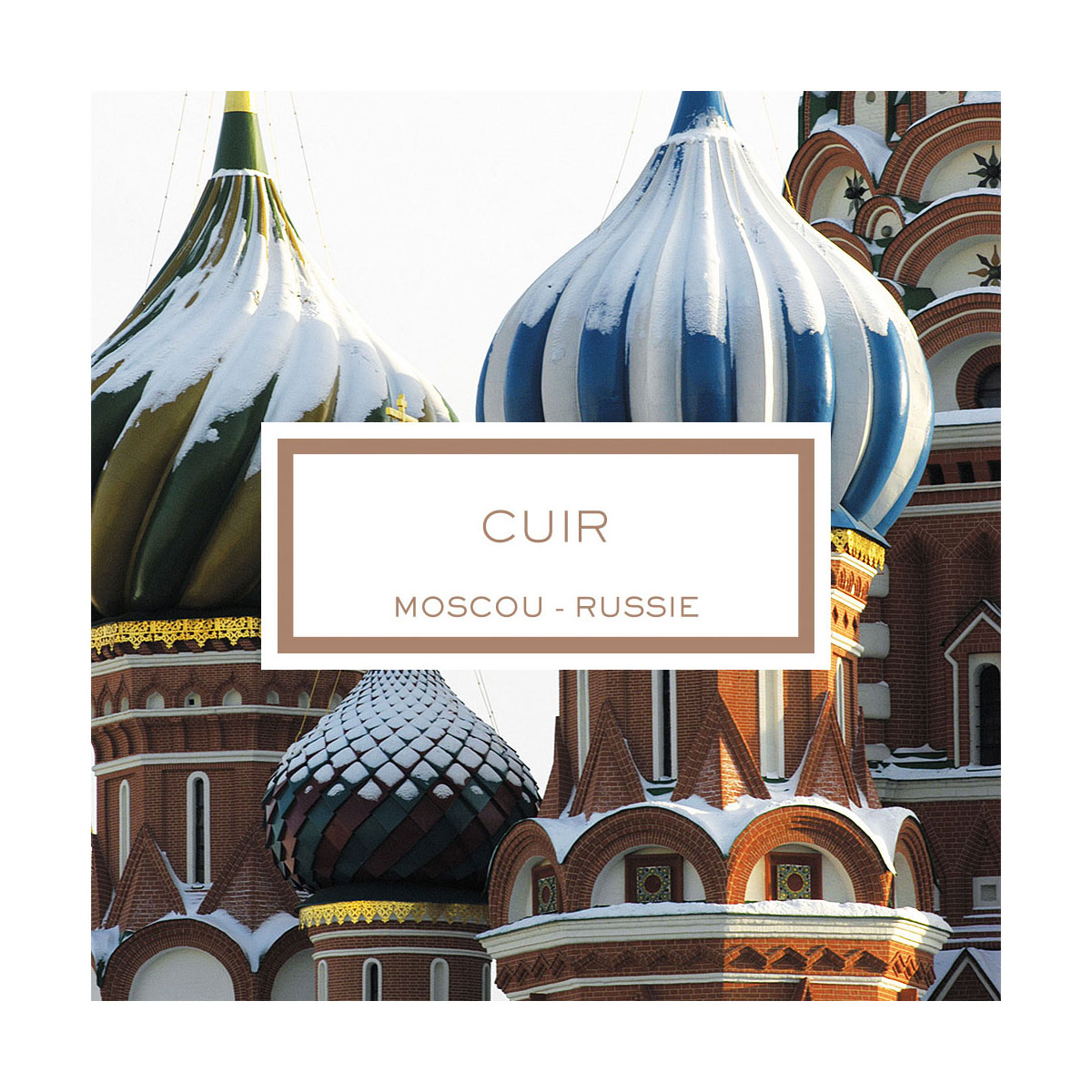 Lalique Cuir Moscou Scented Candle, Leather Moscow-Russia