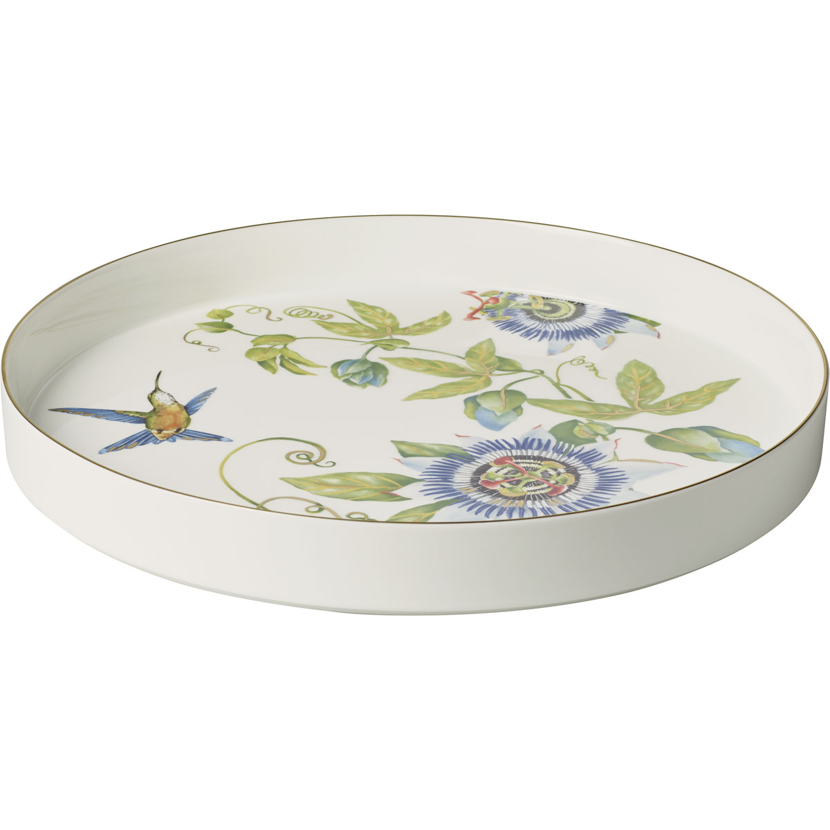 Villeroy and Boch Amazonia Round Decorative Tray 13""