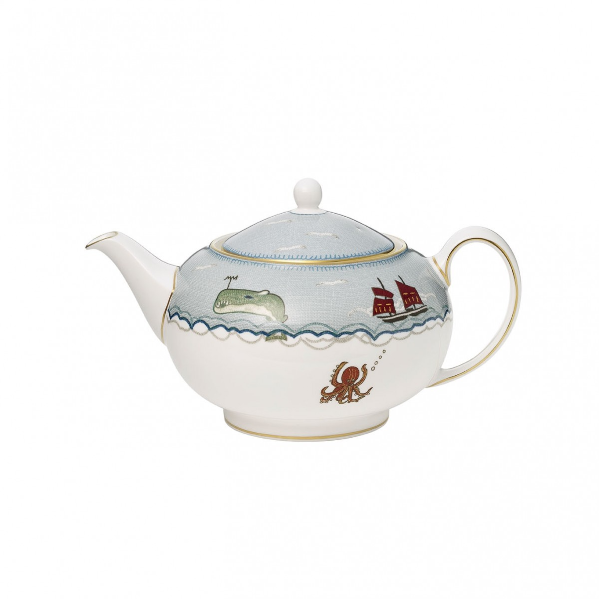 Wedgwood Sailors Farewell Teapot