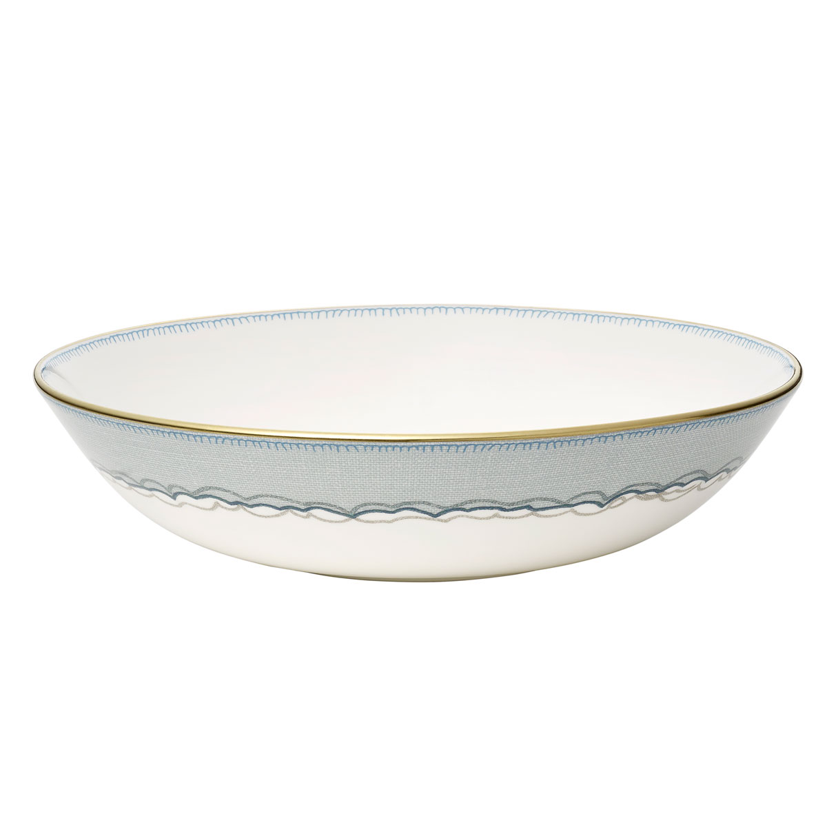 "Wedgwood Sailors Farewell Pasta Bowl 8"""