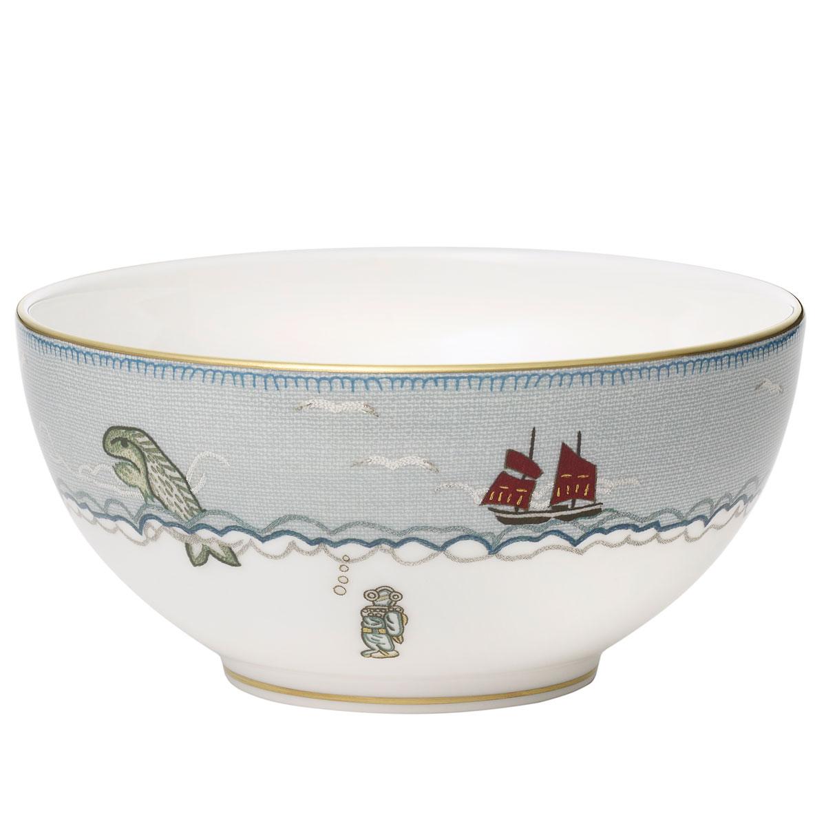 Wedgwood Sailors Farewell Soup Cereal Bowl, Single