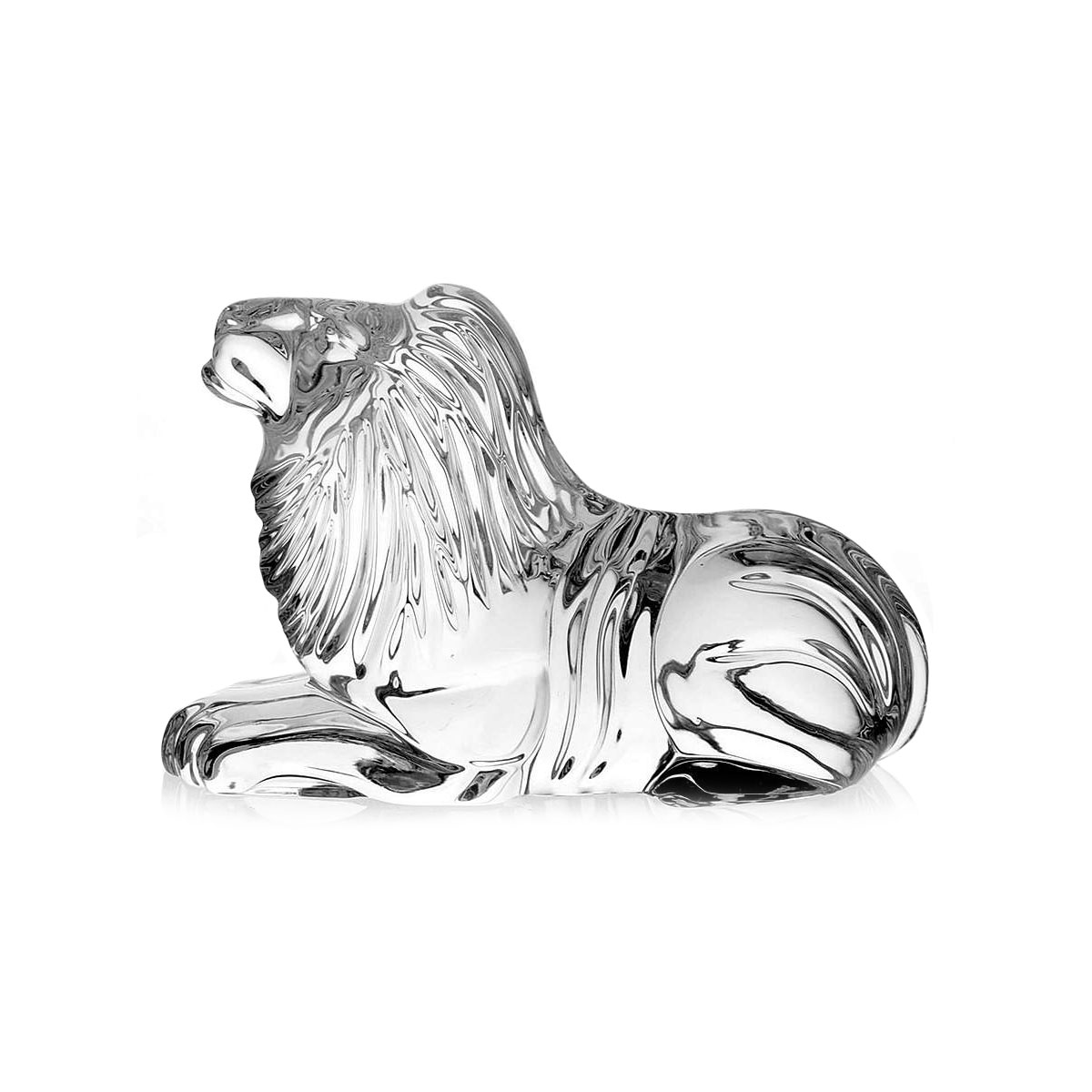 Waterford Crystal Lion Sculpture