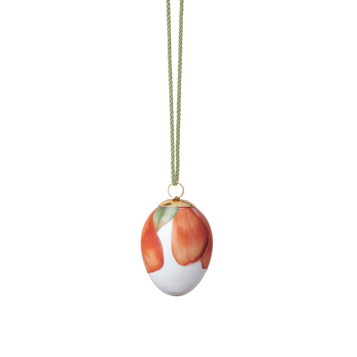 Royal Copenhagen Easter Egg Quince Petals