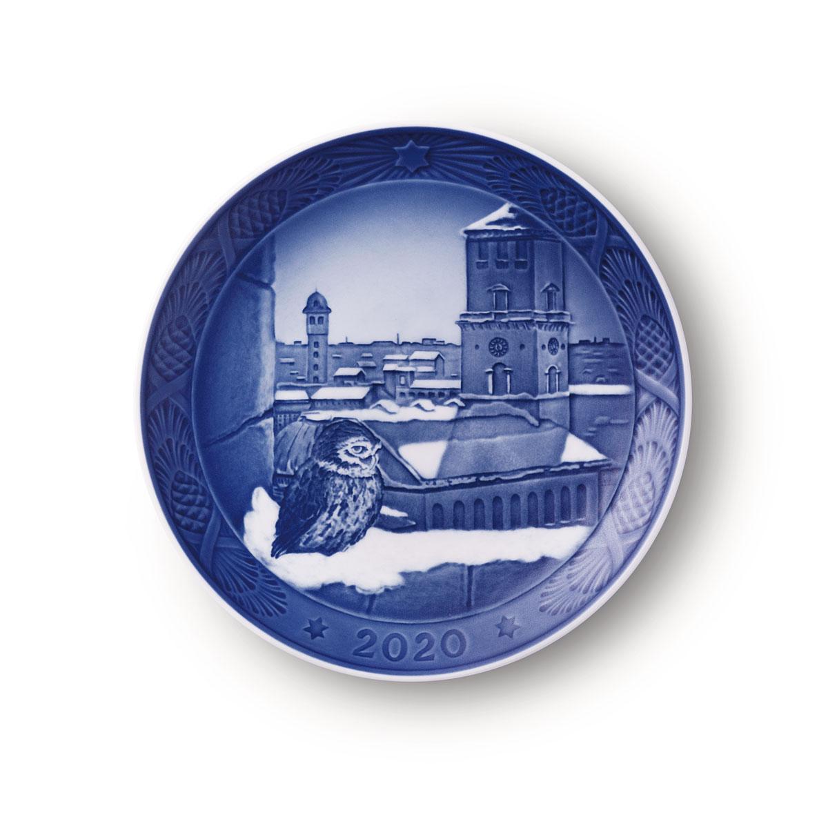 Royal Copenhagen 2020 Christmas Plate