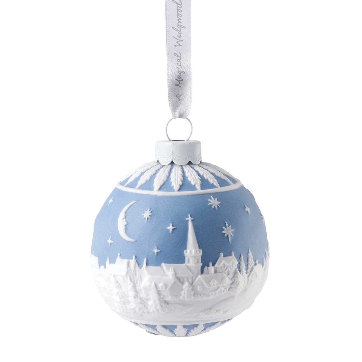 Wedgwood 2020 Christmas Sky at Night Ball Ornament