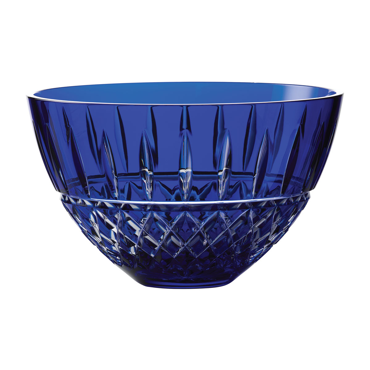 "Waterford Treasures of the Sea, Tramore 8"" Blue Bowl"