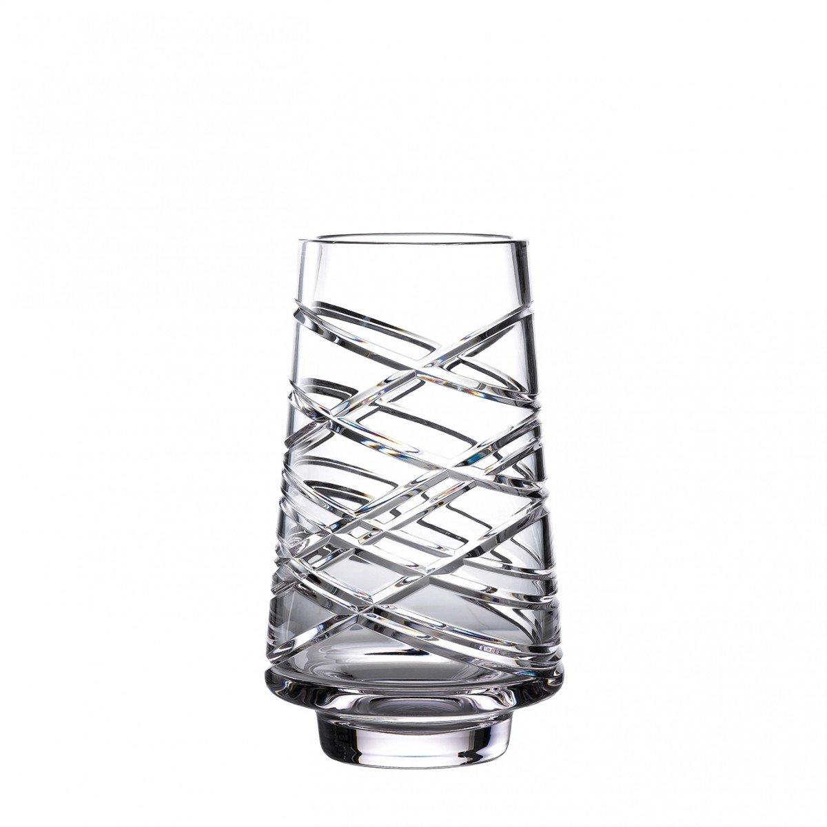 "Waterford Crystal Master Craft Aran Vase 10"""