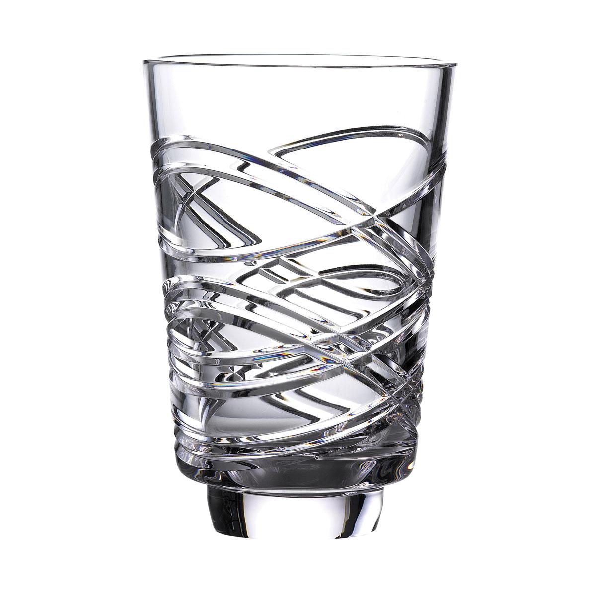 """Waterford Crystal Master Craft 8"""" Aran Annual Artisan Vase"""