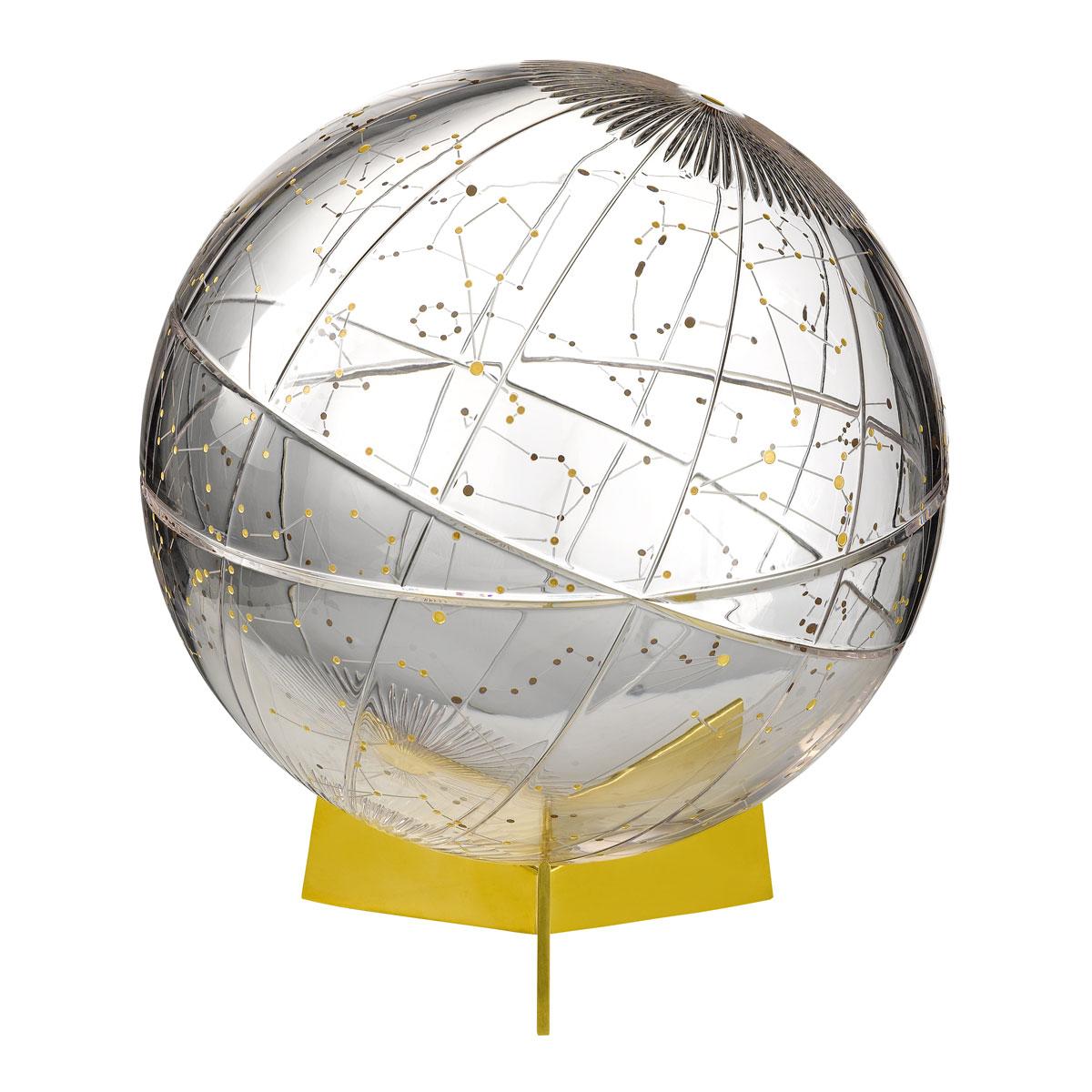 "Waterford Mastercraft Stellar Celestial Globe 12"""