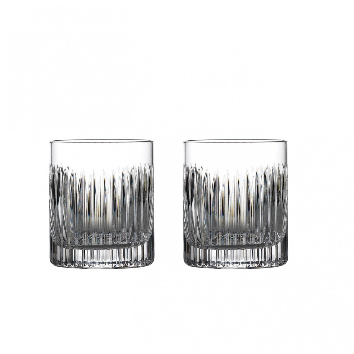 Waterford Crystal Aras DOF Tumblers, Pair