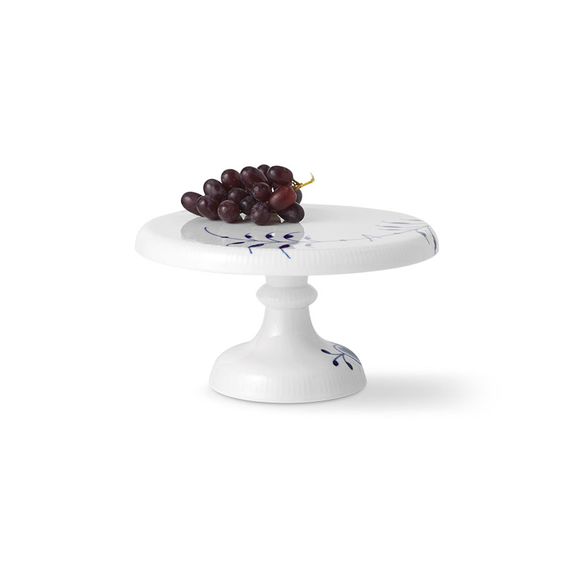 Royal Copenhagen Blue Fluted Mega Cake Stand Small