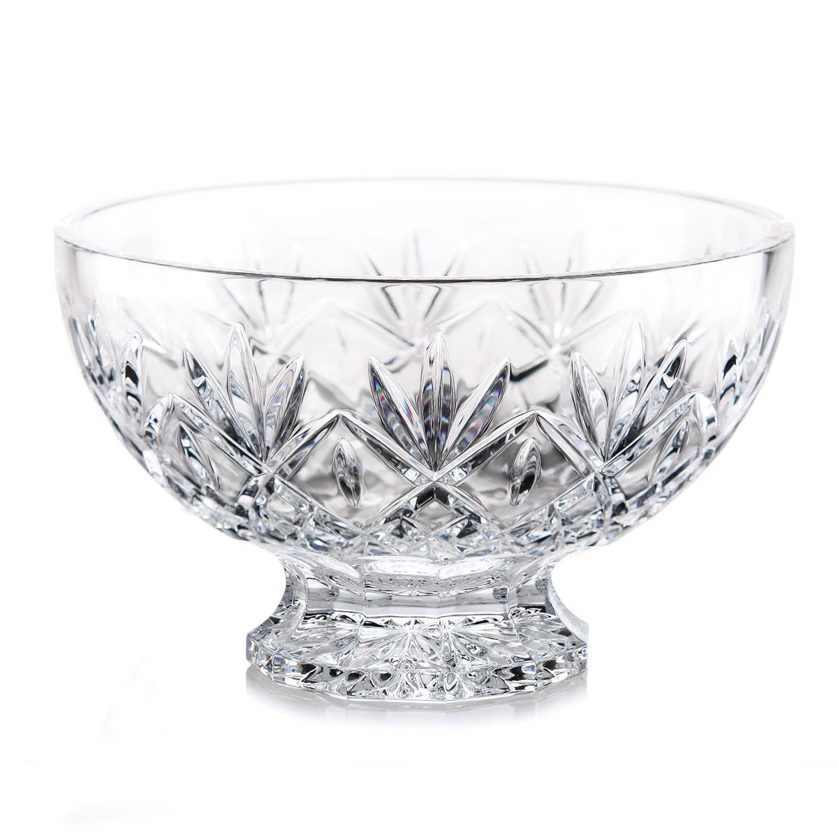 "Waterford Crystal Huntley 10"" Footed Bowl"